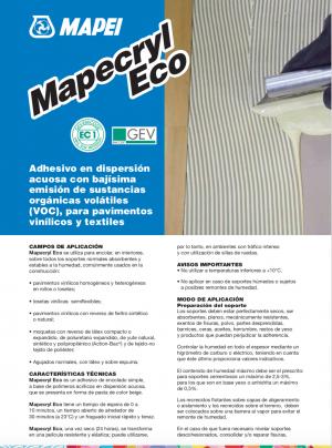 Productos para instalación de pisos vinílicos, alfombras y pasto sintético